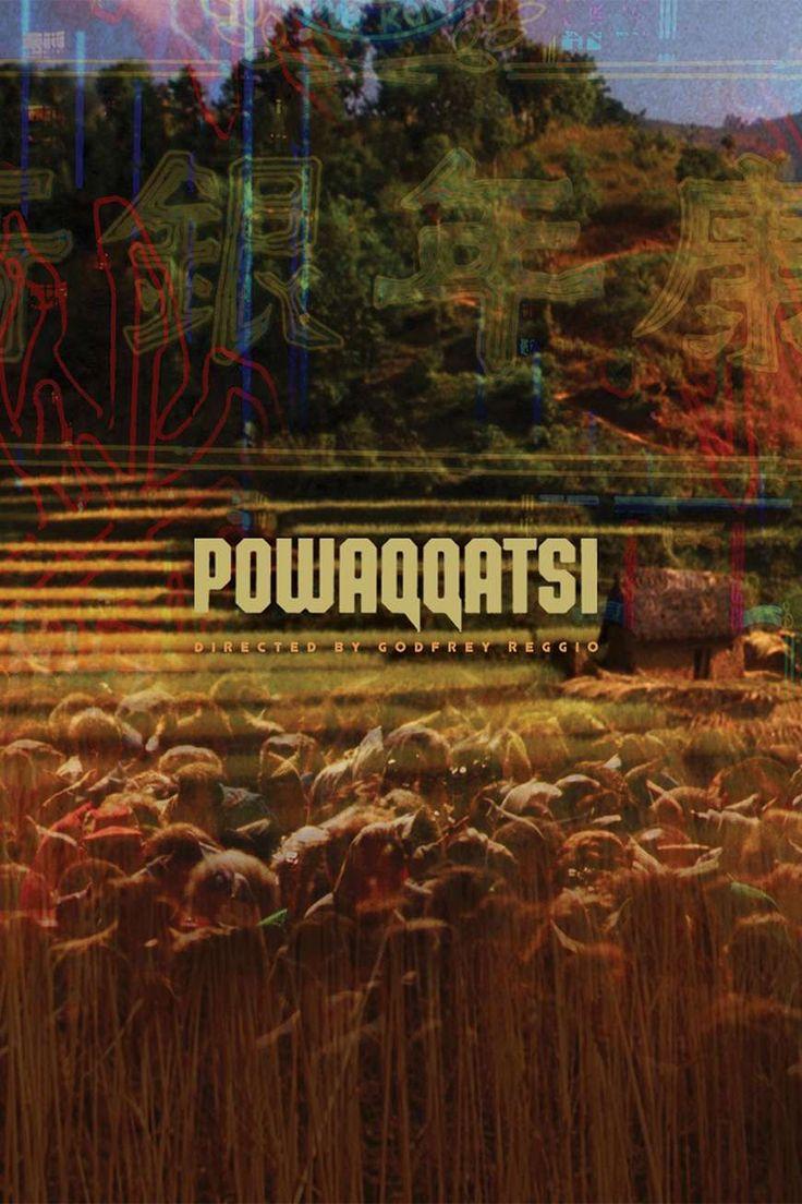 Powaqqatsi (1988) de Godfrey Reggio (http://ultracuerpos.com/fichas/powaqqatsi-1988-godfrey-reggio/) #documental #poster