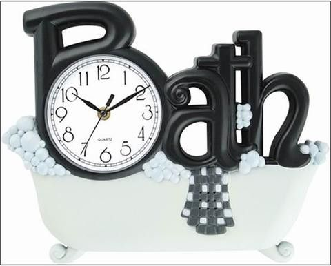 Delightful Bathroom Wall Clock 14 Part 21