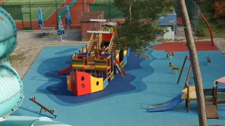 Ośrodek Sandra Spa w Pogorzelicy i jej wodny Plac Zabaw