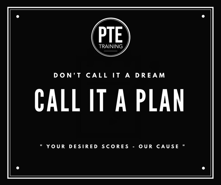 """What inspires you to get out of bed everyday. At PTE Training we believe in this post.""""Your Desired Scores - Our Cause"""""""
