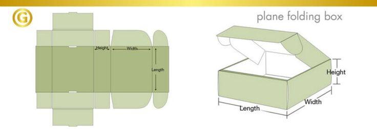 folding box template