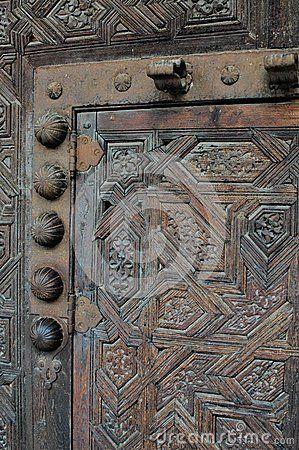 Details froma locked ancient door in Spain.