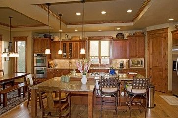 pictures of craftsman home interiors | Castle Rock Craftsman Home - traditional - kitchen - denver - by Erin ...
