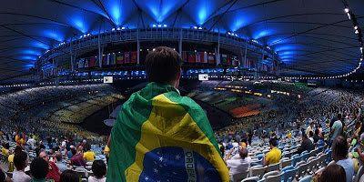 Maracanã está pronto (e lindo!) para a abertura da Olimpíada. Acompanhe nossa cobertura ao vivo:: ift.tt/2aOVCjs