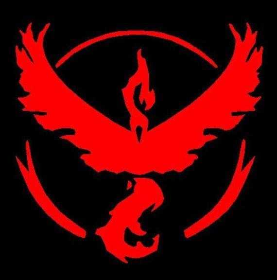 Pokemon Go Team Logo Decal Team Instinct Team Mystic Team Etsy Pokemon Go Team Valor Pokemon Teams Team Valor