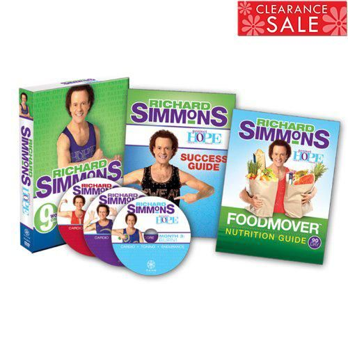 Richard Simmons Project H O P E Home Workout System Dvd Richard