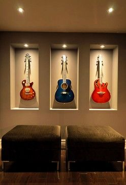 @donna_nelson  Guitar Display Design Ideas, Pictures, Remodel and Decor