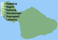 Maui Maps - Island Information - Maui Accommodation Guide West Maui