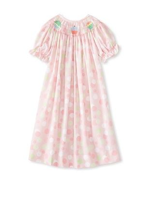 59% OFF Viva La Fete Kid's Cupcakes Smocked Dress (Rose)
