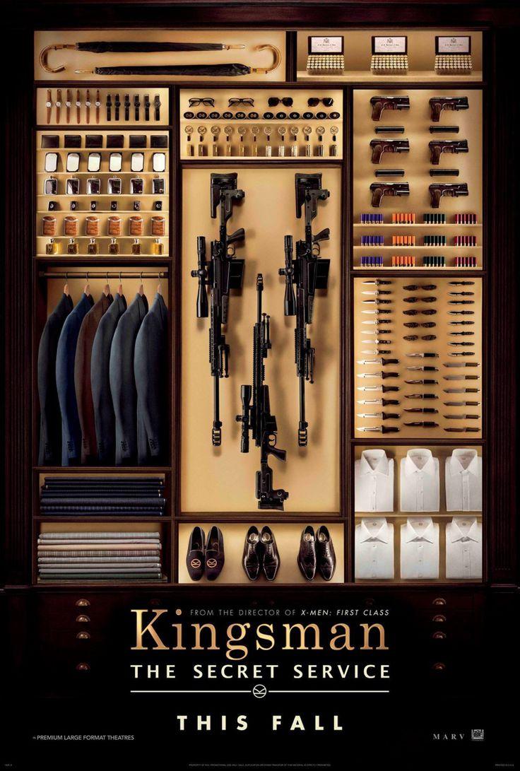 """金牌特務 (Kingsman:The secret service)  """"牛津鞋不是雕花鞋"""" 原來紳士也能很帥氣 另類的間諜特務片!帶點小人物的溫馨與綁匪片的幽默 值得一看!  p.s 片尾曲好好聽~~~ ♪"""