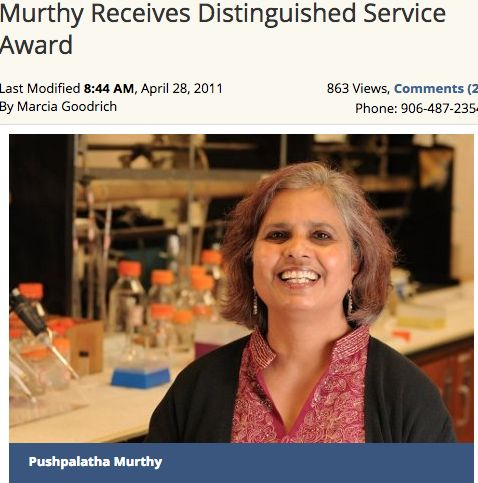 My second interview in this series was with Dr. Pushpa Murthy. Pushpa is Professor of Chemistry at Michigan Technological University and currently, Program Manager at National Science Foundation. W...