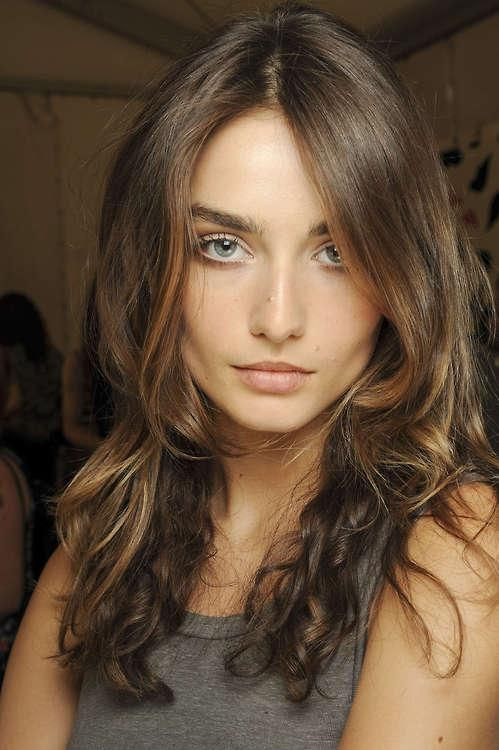 Light Brown Hair Color With Dark Brown Underneath ... |Pretty Brown Hair Color