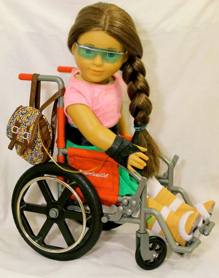 Disability is part of their doll's story ~ Special needs disability parenting BLOOM