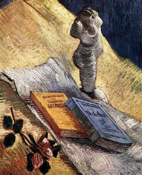 Vincent van Gogh: The Paintings (Still Life with Plaster Statuette, a Rose and Two Novels)