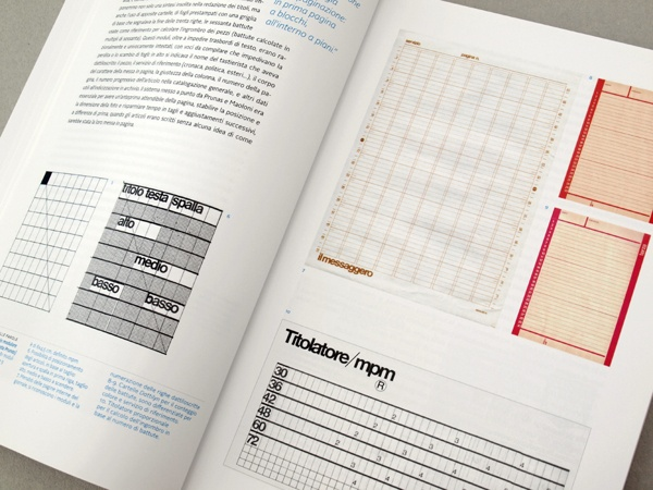 Piergiorgio Maoloni - Quotidiani, Newspaper design graduation thesis by Chiara Athor Brolli, via Behance (Newspaper grid and typometric rules)