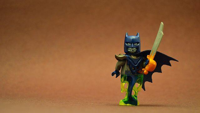 LEGO Zombie Pirate Ghost Batman!