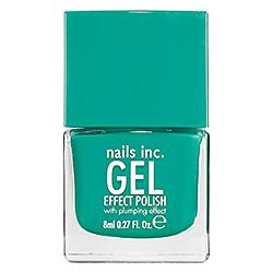 """nails inc. Gel Effect Polish in Soho Place - Aqua Love this color & the Product! This polish last longer than usual and feels like I just got a gel manicure! It is a little expensive but worth it! I get compliments all the time on this beautiful """"Aqua Love""""color. #sephora #nailsinc."""