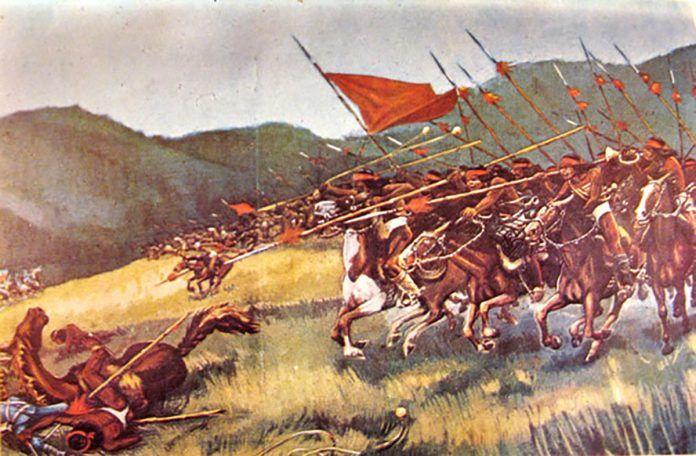 Guerra  de  Arauco - Mapu Chile
