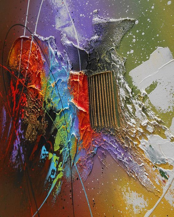 tableau abstrait contemporain kaitos peinture acrylique. Black Bedroom Furniture Sets. Home Design Ideas