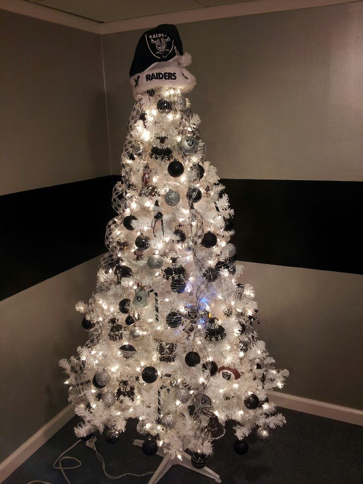 My Friend S All Raider Christmas Tree Raiders Pinterest Trees We And The O Jays