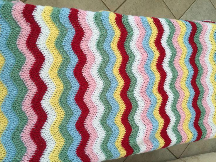 Cath Kidston baby girls ripple blanket