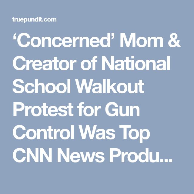 'Concerned' Mom & Creator of National School Walkout Protest for Gun Control Was Top CNN News Producer