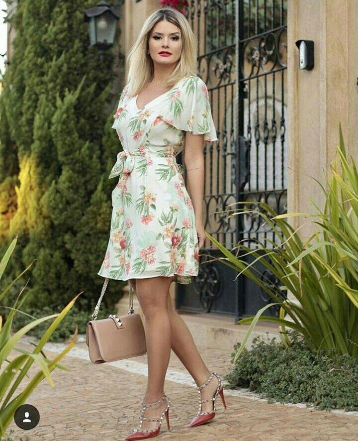 Vestido mini Doce Flor