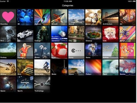 Top Free iPhone iPad HD Wallpapers Apps