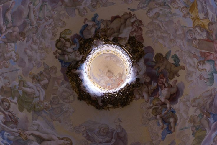 Santa Sabina, Kapelle der hl. Katharina von Siena, Kuppel, Fresko von Giovanni Odazzi (Chapel of St. Catherine of Siena, dome, fresco by Giovanni Odazzi) | Flickr - Photo Sharing!