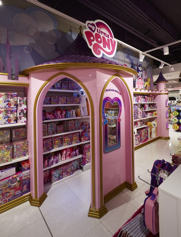 Propability Works On Store Development For The Toy Store On Oxford Street