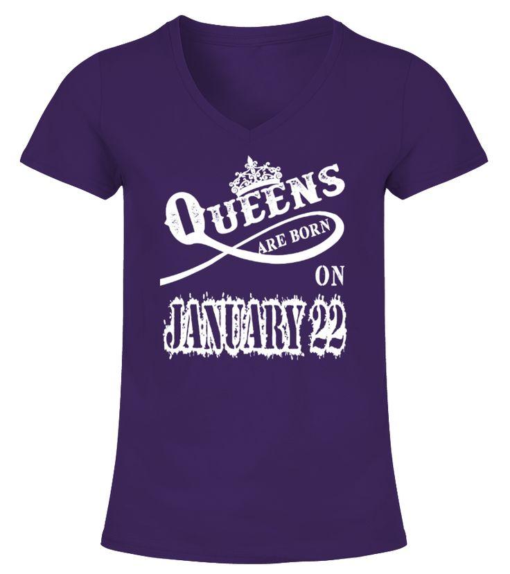 Queens are born on January 22   sister gifts, brother sister gifts, funny sister gifts, birthday gifts sister #sistershirts #giftforsister #family #hoodie #ideas #image #photo #shirt #tshirt #sweatshirt #tee #gift #perfectgift #birthday #Christmas