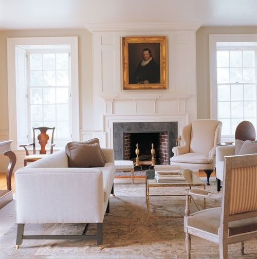 Architectural details :: recessed interior shutters ~ great white room
