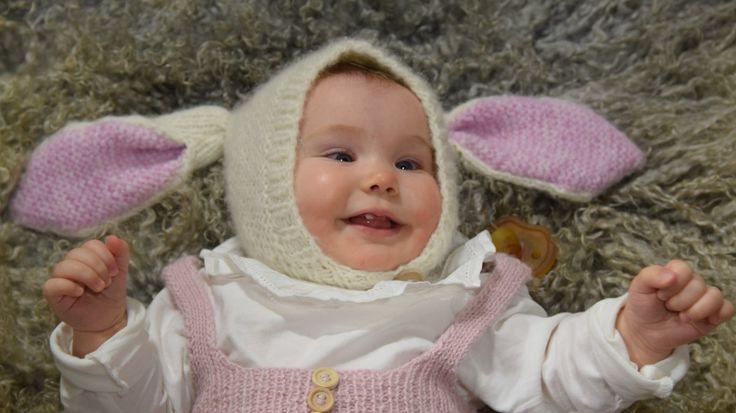 Sticka en kaninmössa till babyn | Hobby och hantverk | svenska.yle.fi