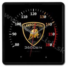 Nástenné dizajnové hodiny SPEED L