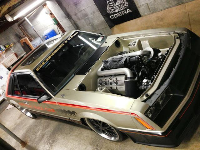 SINIS Built 1979 Ford Mustang Pace Car foxbody