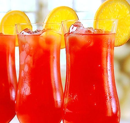 Mardi Gras Hurricane Cocktail | Turned Up! So get like me! | Pinterest ...