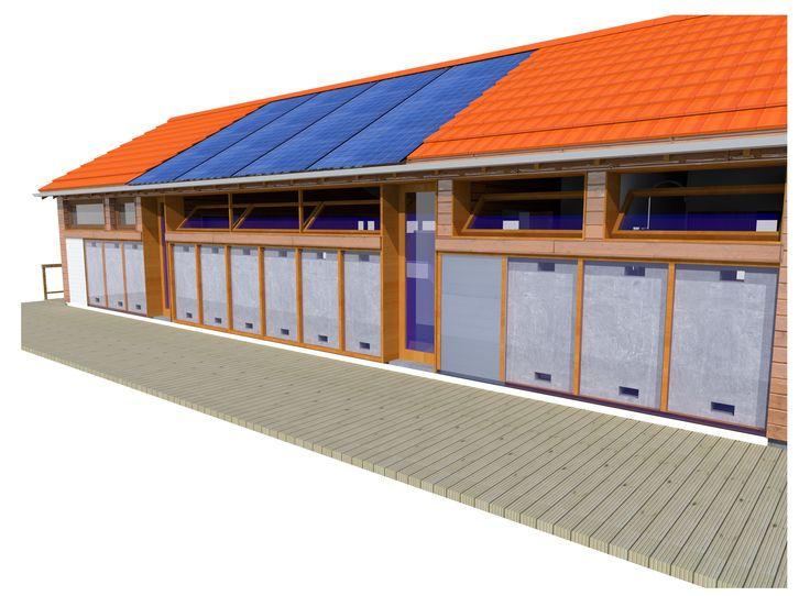 Habitação T2 - Desenvolvimento de um projecto de habitação auto-suficiente
