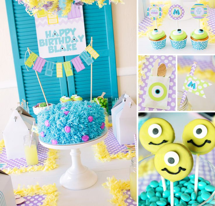 Calling all monsters! Petite Party Studio's Playful Monsters University Party is frighteningly CUTE! http://hwtm.me/11G16oG ‪#‎MonstersUniversity‬