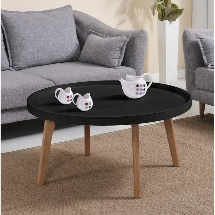 Simeone Raised Edge Coffee Table Coffee Table Cool Coffee