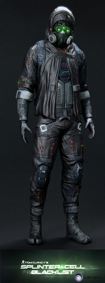 Splinter Cell Blacklist - Ghost Prestige , Vince Rizzi on ArtStation at https://www.artstation.com/artwork/XPWln