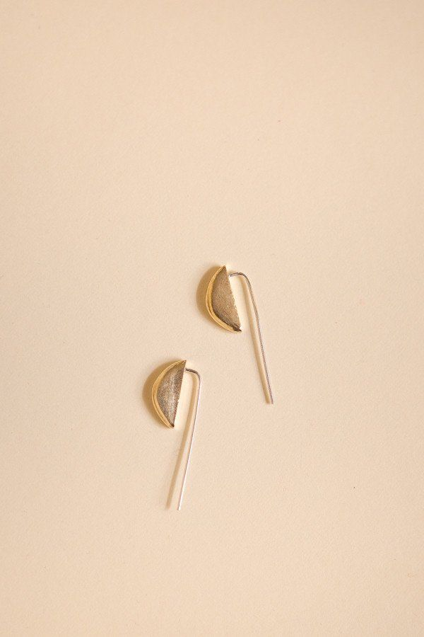 Kiki Koyote Slope Earrings /