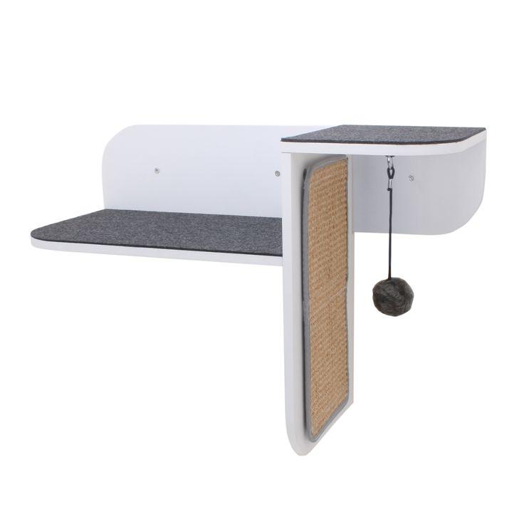 Primetime Petz Hauspanther Step Perch Wall-mounted Cat Perch and Scratcher