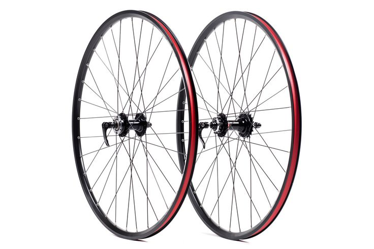 State Bicycle Co. Cyclocross Premium Single Speed Wheelset Front/Rear Black