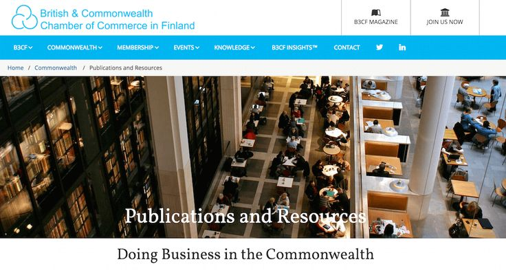 Range of documents, publications and resources relating to doing business in Commonwealth countries. Publications are available free of charge for B3CF members only.