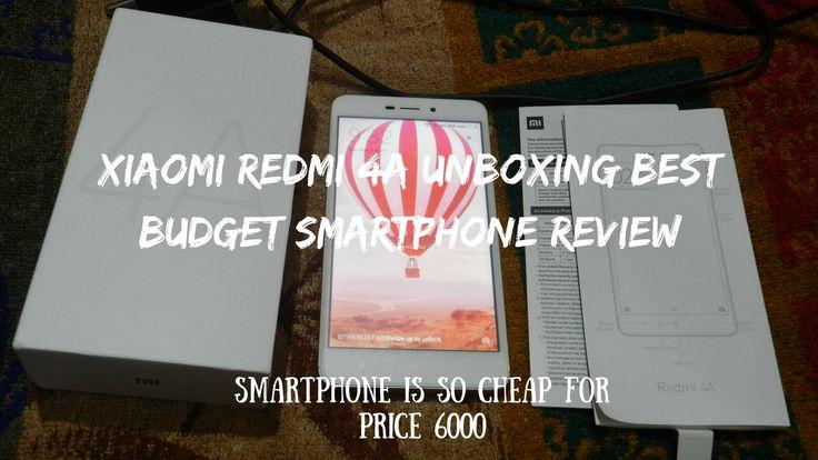 Xiaomi Redmi 4A Unboxing Best Budget Smartphone Review  #redmi4a #xiaomi4a #smartphone #budgetphone #amazon