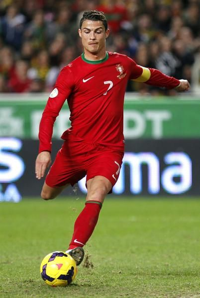 Because it's the World Cup and you must have at least one picture of Cristiano Ronaldo.
