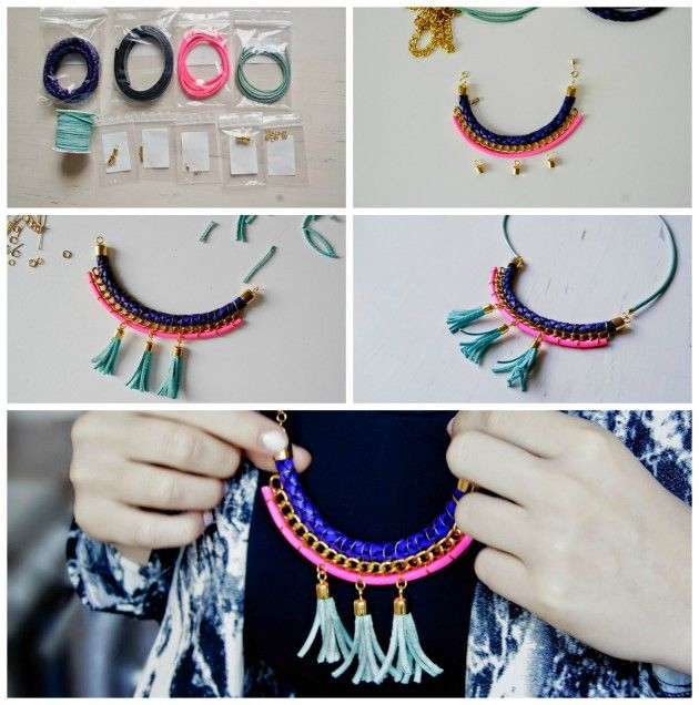 16 Colorful DIY Necklaces To Make This Spring