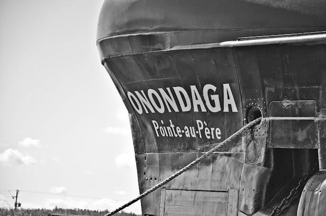 Visit submarine in Rimouski