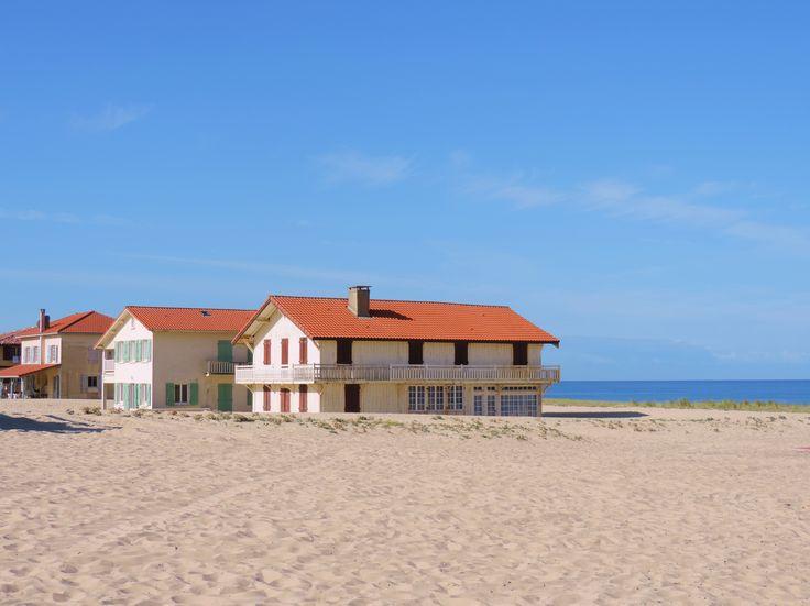 Landes : plage de Vielle St-Girons...