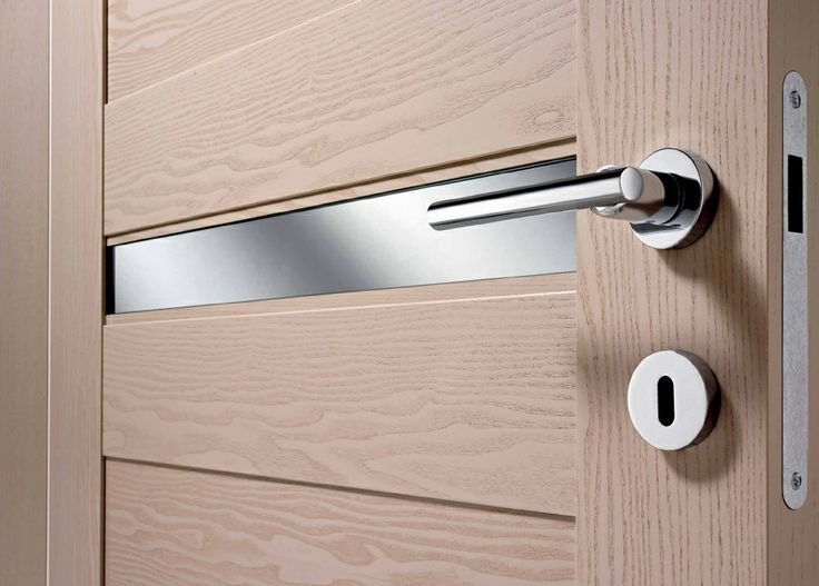 FBP porte | Collezione LAURA  Dettaglio inserto in alluminio  #fbp #porte #legno #door #wood #aluminium